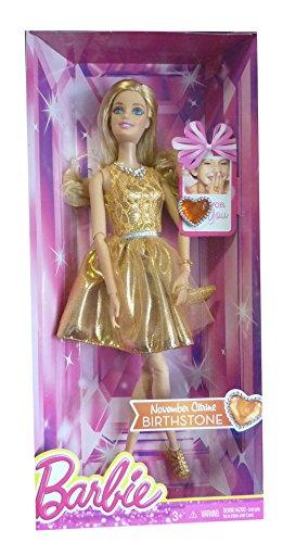 Barbie Special Edition Birthstone CDK19 - mit Geburtstagsstein Citrine für den Monat November -