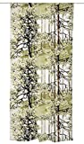Vallila Vorhang, Baumwolle 83%, Polyester 17%, olivgrün, 250cm x 140cm
