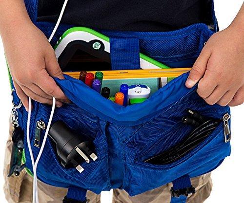UltimateAddons® Kinder Jungen Mädchen Messenger Tragetasche Aufbewahrungstasche kompatibel mit AMAZON FIRE HD 8