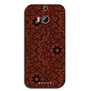 Mozine Forest Flower printed mobile back cover for HTC one m9 Plus