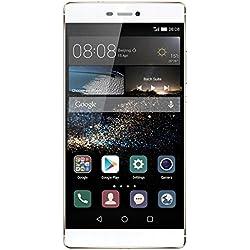 Huawei - P8 - Smartphone Débloqué - 4G (Ecran : 5,2 pouces - 16 Go - Simple SIM - Android 5.0 Lollipop) - Mystic Champagne
