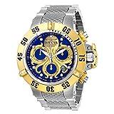 Invicta Men's Subaqua Steel Bracelet & Case Swiss Quartz Blue Dial Watch 26132