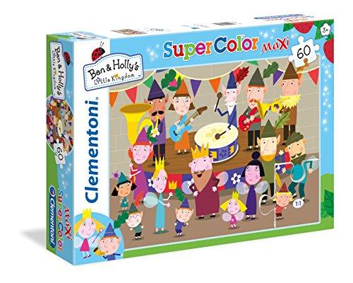 Clementoni 26742 - Maxi Puzzle Ben & Holly, 60 Pezzi