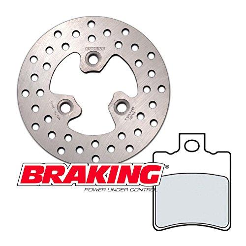 Kit freno anteriore Braking disco pastiglie Booster Evolis Fizz Zip BW'S 50