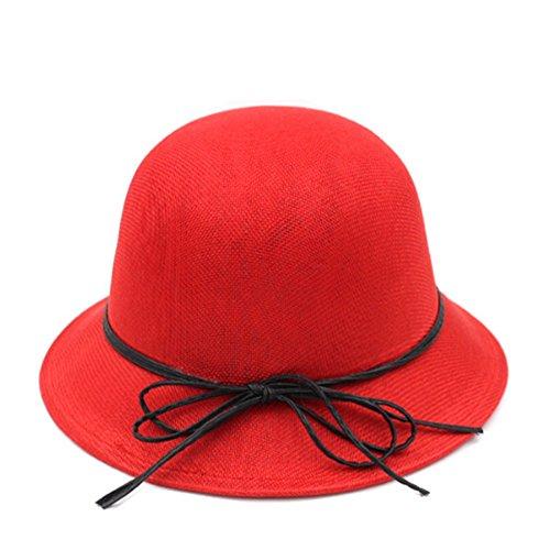 Printemps et été protection chapeau soleil UV/Seau de plage Hat/Chapeau de soleil en plein air/Pare-soleil Hat/ Femme petit chapeau/Respirant Liang Mao A