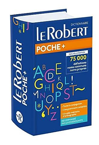 Dictionnaire Le Robert de Poche Plus