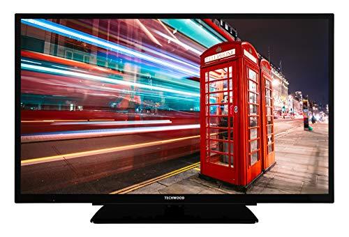 Techwood H32T12C 81 cm (32 Zoll) Fernseher (HD Ready, Triple Tuner) [Energieklasse A+]