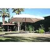 My_Garden M0440 Ombrellone Oasis, 300x400x280 cm, Ecrù immagine