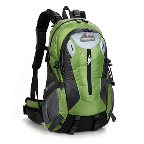 Z&N Backpack 25-30L Hochwertige Wasserdichte Nylon Outdoor Bergsteigen Tasche Unisex Sport Wanderung Urlaub Picknick Party Tasche Verstellbare Gurt Anti-Riss Rucksack Daypacks A