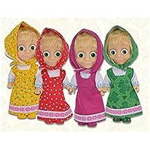 Muñeca Masha y el Oso 12cm juguete idea regalo XAG