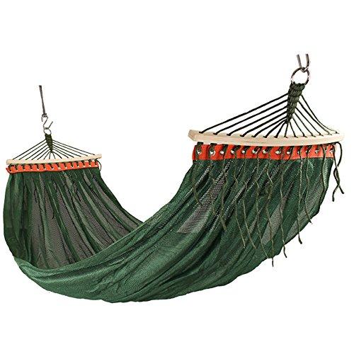 XY&CF Portable Voyage 2 Personnes Camping Parachute Nylon Tissu hamac balançoire Ultra-léger 200 * 150cm (Couleur : C)