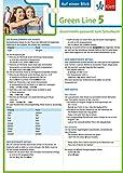Klett Green Line 5 G8 Klasse 9 Auf einen Blick: Grammatik passend zum Schulbuch