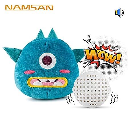 Namsan Hundespielzeug Quietschende Interaktives Spielzeug für Hunde Plüsch Bouncer Hunde Spielzeug