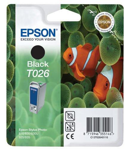 Epson T0264 Cartouche d'encre d'origine Noire pour SP 810 830 925 830U 935