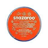 Snazaroo - Colore Per Viso 18Ml  Arancione Scuro