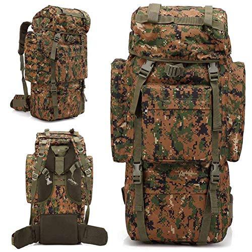 Luckgxy grande capacità di alpinismo pacchetto, multifunzionale tattico zaino militare impermeabile borsa portatile per outdoor campeggio trekking trekking caccia,jungledigital