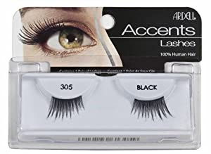 Ardell Lashes 305 Black Accent - Lou61305