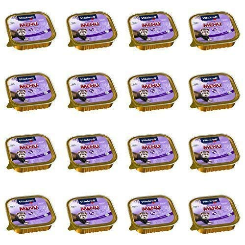 Vitakraft Premium Menü Nassfutter für Frettchen - 16x 100g -