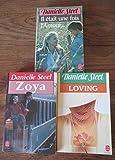 3 Livres : 1- Il était une fois l'Amour, 2- Loving, 3- Zoya