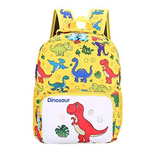 Zaino bambina a scuola elementare backpack borsa bambini grande astuccio scuola da viaggio borse per prima fase di scuola stampa animal ragazza dinosauro prima infanzia uomogo