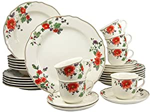 Creatable 17605 collection alba meran premium service de table 30 pièces