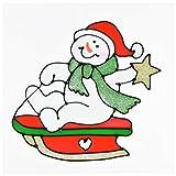 Monopol 6 Dekorative Fensterbilder mit weihnachtlichem Motiv