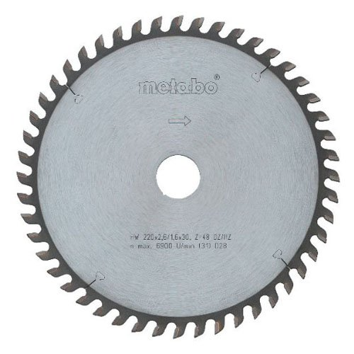 METABO DSD9250 - HOJA SIERRA METAL DURO HW-CT PRECISION 230X30 56WZ