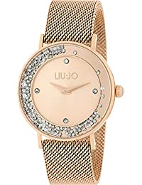0cb6a6bcca057 Orologio Donna Dancing Slim Gold Rose Liu Jo Luxury