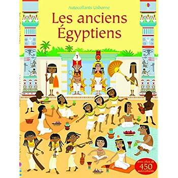 Les anciens Egyptiens - Autocollants Usborne