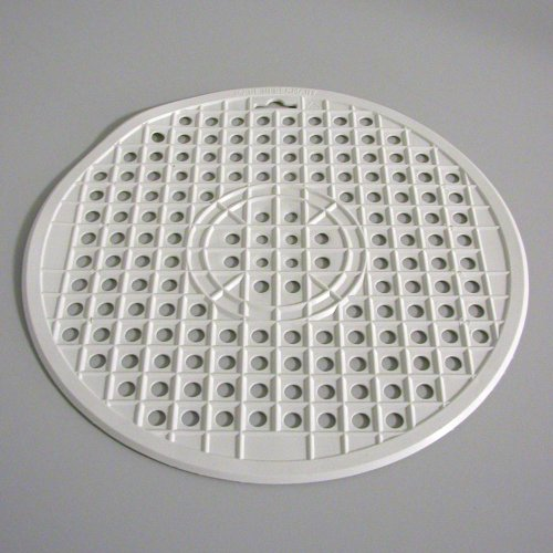 EK HANDEL Spülbecken-Matte rund weiß 32 cm Spül-Einlage