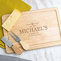 Personalised Cheese Board/Chopping Board - SLATE and WOOD Available - Personalised Gift for ANY Occasion - Vintage Design