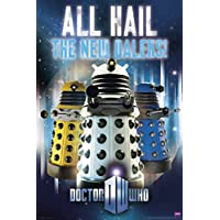 Doctor Who - All Hail The New Daleks Art Print Poster