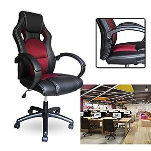 51iF92c1neL. SS300  - HG-Poliuretano-Racing-Ejecutivo-silla-de-oficina-giratoria
