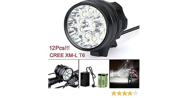 18650 Led Lampe Étanche 30000lm 6 Hipzop Xm Lumière Vélo 12 X L Faire Du Cree T6 8vOmwnN0