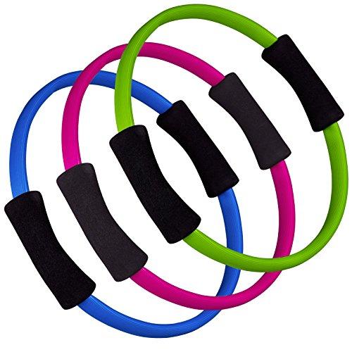 Hop-Sport Pilates Ring Widerstandsring Circle 36 cm Farbvarianten Grün