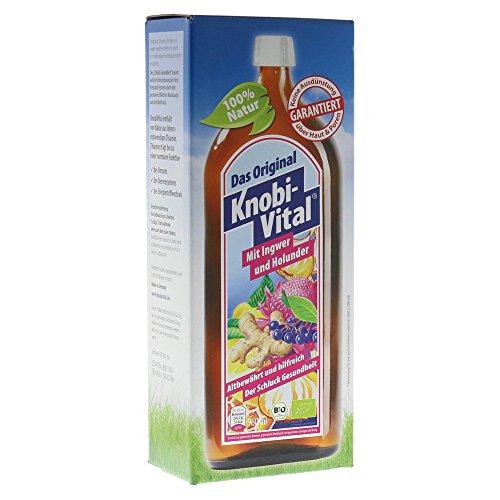 Knobivital mit Ingwer+Holunder Bio, 960 ml
