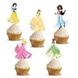 PARTY PROPZ PRINCESS CUP CAKE TOPPER 14 ...