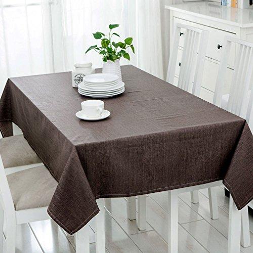 JIAJU Einfache Wasserdichte Tischdecke Baumwolle/Baumwolle Konferenztisch Tuch Couchtisch Tuch...