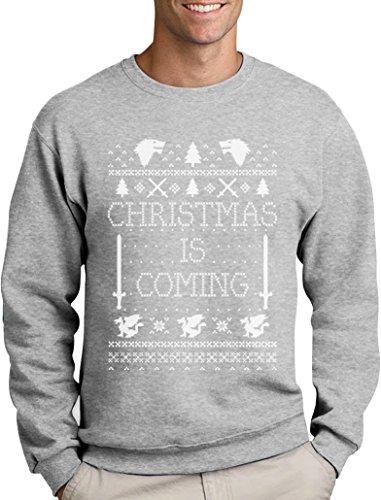 Christmas is Coming - Weihnachtspullover Männer für GOT Fans Sweatshirt XX-Large ()