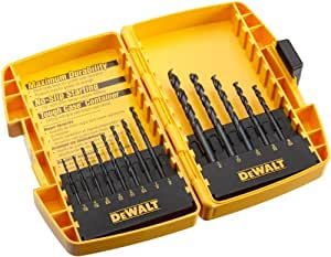 DeWALT Dw1163 13 pièces Noir Oxyde Split point Twist Foret Assortiment