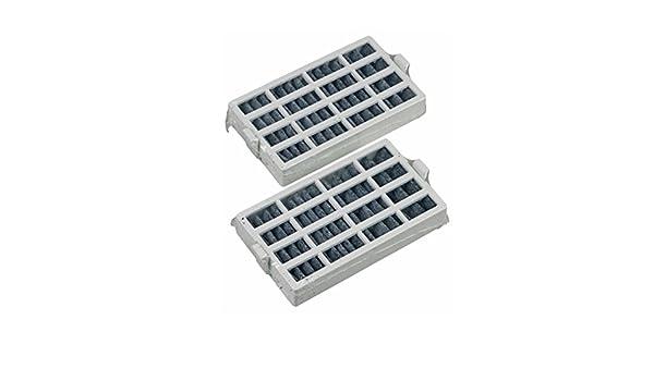 2 x Luftfilter Hygienefilter Kühlschrank passend wie Bauknecht 481248048172