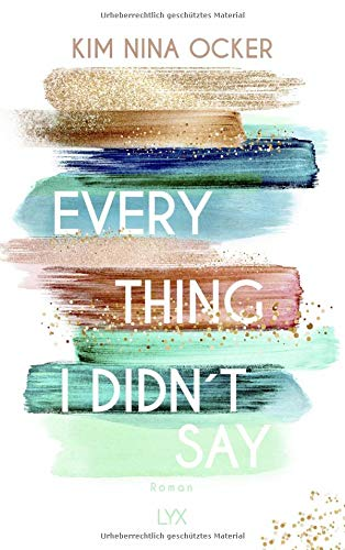 Buchseite und Rezensionen zu 'Everything I Didn't Say' von Kim Nina Ocker