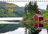 Schweden 2019 (Tischkalender 2019 DIN A5 quer): Schwedische Impressionen (Monatskalender, 14 Seiten ) (CALVENDO Orte)