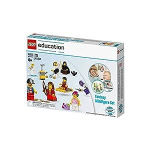 Lego Education Fantasy - Set da 213 mini figure per gioco di costruzioni, multicolore, adatto a partire dai 4anni LEGO Minifigure LEGO
