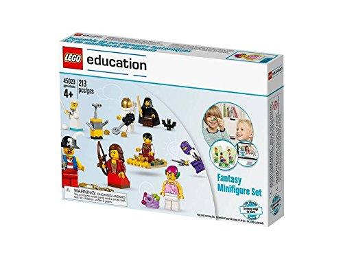 LEGO Education Fantasy Minifigure Set 213pieza(s) juego de construcción - juegos de construcción (Multicolor, 4 año(s), 213 pieza(s))