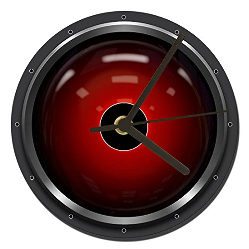 MasTazas 2001 Odisea del Espacio 2001 A Space Odyssey HAL 9000 Reloj CD Clock 12cm