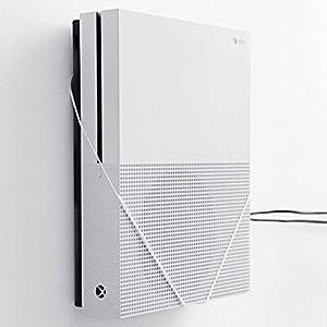Wandhalterung für Xbox One S von FLOATING GRIP® – Zum Patent angemeldet durch FLOATING GRIP ApS – Made in Dänemark