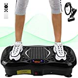 AGM Power Plate Gym Fitness Machine with Bluetooth Speaker Unisex Vibration Trainer