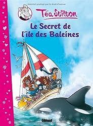 Téa Stilton, Tome 1 : Le secret de l'île des baleines