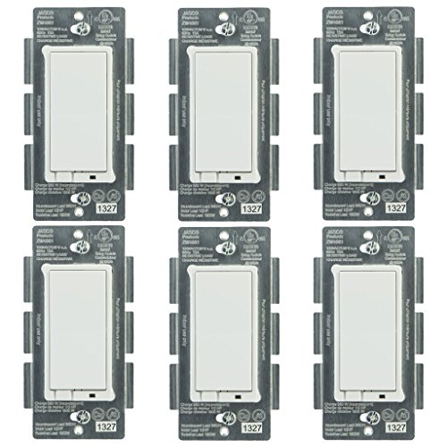 Jasco 45609 Z-Wave Wireless Lighting Control On/Off Schalter 6er Pack von Jasco (Ge-licht-schalter)